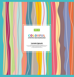 abstract colorful pastels vertical striped vector image vector image