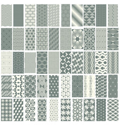 50 geometric seamless pattern set vector