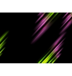 Abstract bright tech stripes background vector image