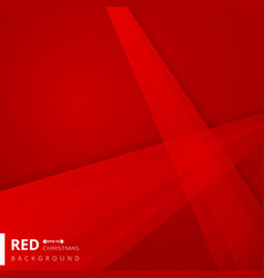 abstract of christmas gradient red color vector image
