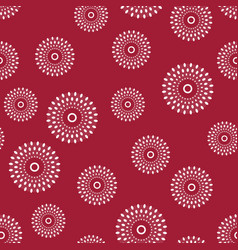 ethnic bali pattern dress seamless wallpaper vector image