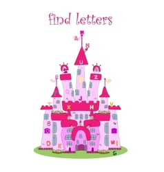 game for kids find letters vector image