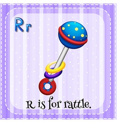 Rattle vector image