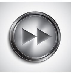 Rewind button vector