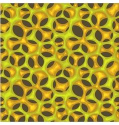 Seamless organic net pattern vector image