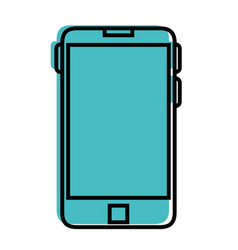 smartphome mobile technology vector image