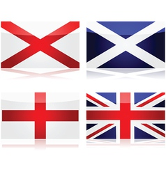 Creating a Union Jack vector image vector image