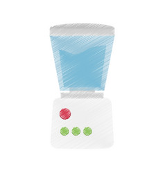 drawing blender appliance icon vector image