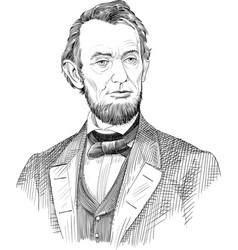 Abraham lincoln vector