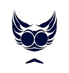 Dark blue logo vector
