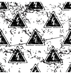 High voltage pattern grunge monochrome vector
