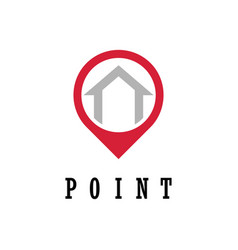 House point logo vector