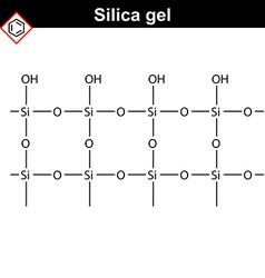 Silica gel polymer molecule vector
