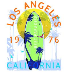 summer graphic design tee artwork vector image