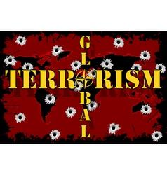 Global terrorism vector