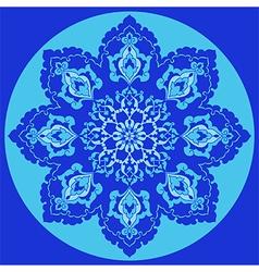 Antique ottoman turkish pattern design thirty one vector image