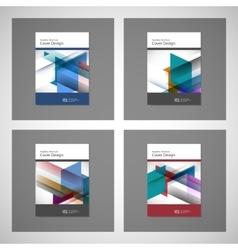 Brochure Flyer design Layout template size vector image