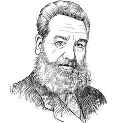 alexander graham bell vector image