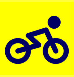 Bicycle icon bicycle vector