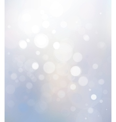 Bokeh white background vector