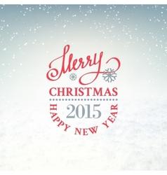 Christmas snow environment vector