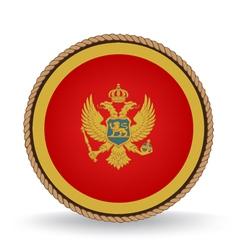 Montenegro Seal vector image