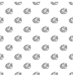 omg comic text speech bubble pattern vector image