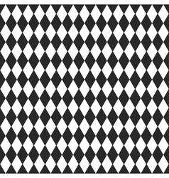 background with black and white rhombus vector image vector image