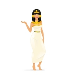 Egypt Queen Cleopatra vector image