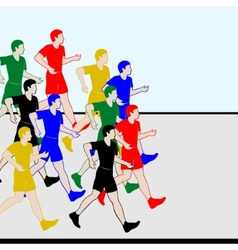 Athletics Racewalking-1 vector image vector image