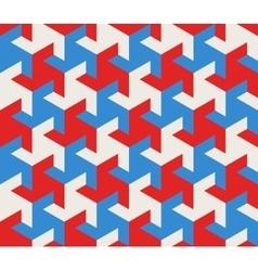 Seamless Geometric Triangle Tessellation vector image