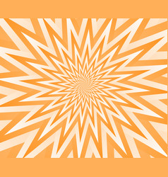 abstract orange geometric design background vector image vector image