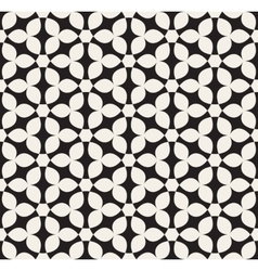 Seamless White Hexagonal Geometric Simple vector image