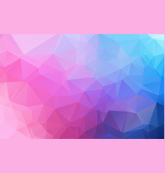 Abstract irregular polygon background with a vector