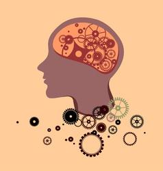 Broken Brain vector image