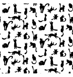 CatSilhouette vector image