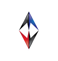 Double arrow logo vector