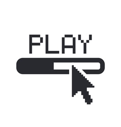 player icon vector image