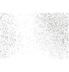 Silver dots on white background vector