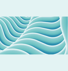 stylized wavy abstract background vector image