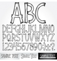 Typography vector