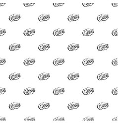 Ooops comic book explosion pattern vector