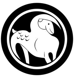 capricorn tattoo vector image