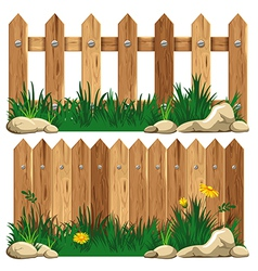 Fence vector image vector image