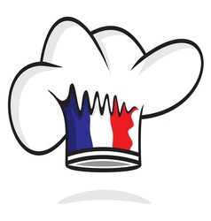 France chef hat vector image vector image