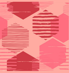 abstract geometric seamless repeat pattern with vector image