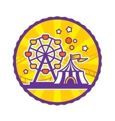 Amusement Park Emblem vector