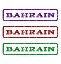 Bahrain watermark stamp vector