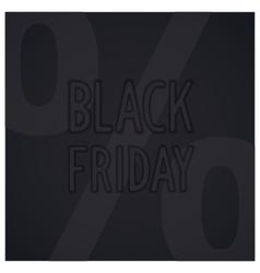 Black friday design vector