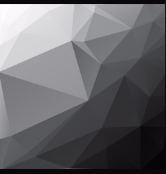 black poly abstract background vector image